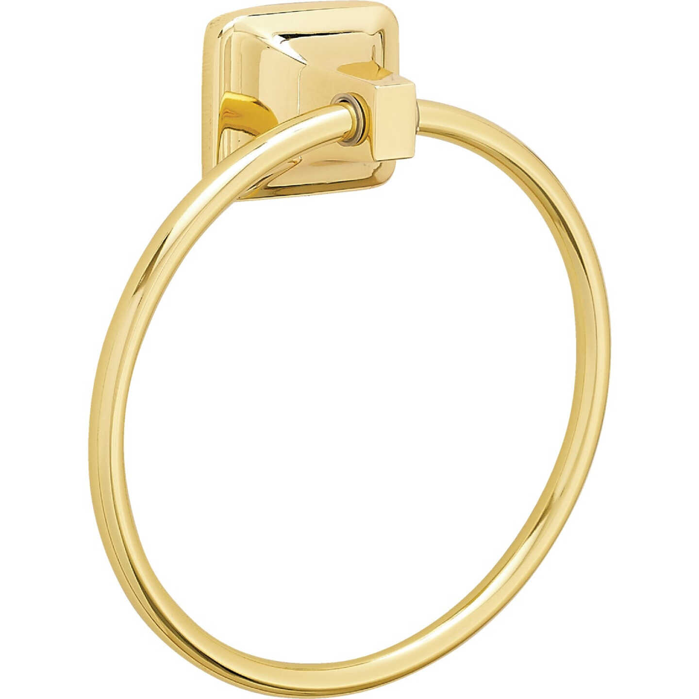 Home Impressions Brass Towel Ring Image 4