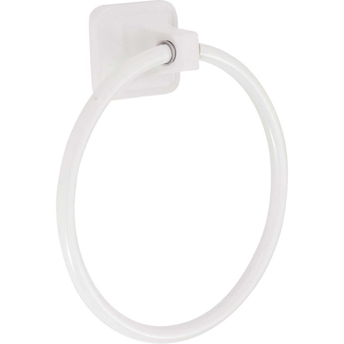 Home Impressions White Towel Ring Image 5