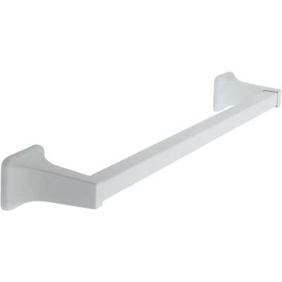 Home Impressions Vista 18 In. White Towel Bar