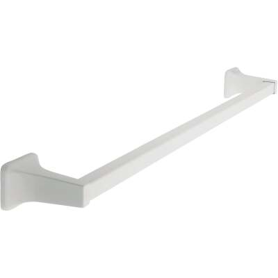 Home Impressions Vista 24 In. White Towel Bar