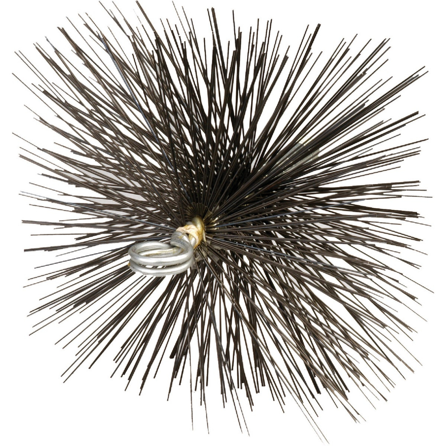Meeco's Red Devil 7 In. Square Wire Chimney Brush Image 1