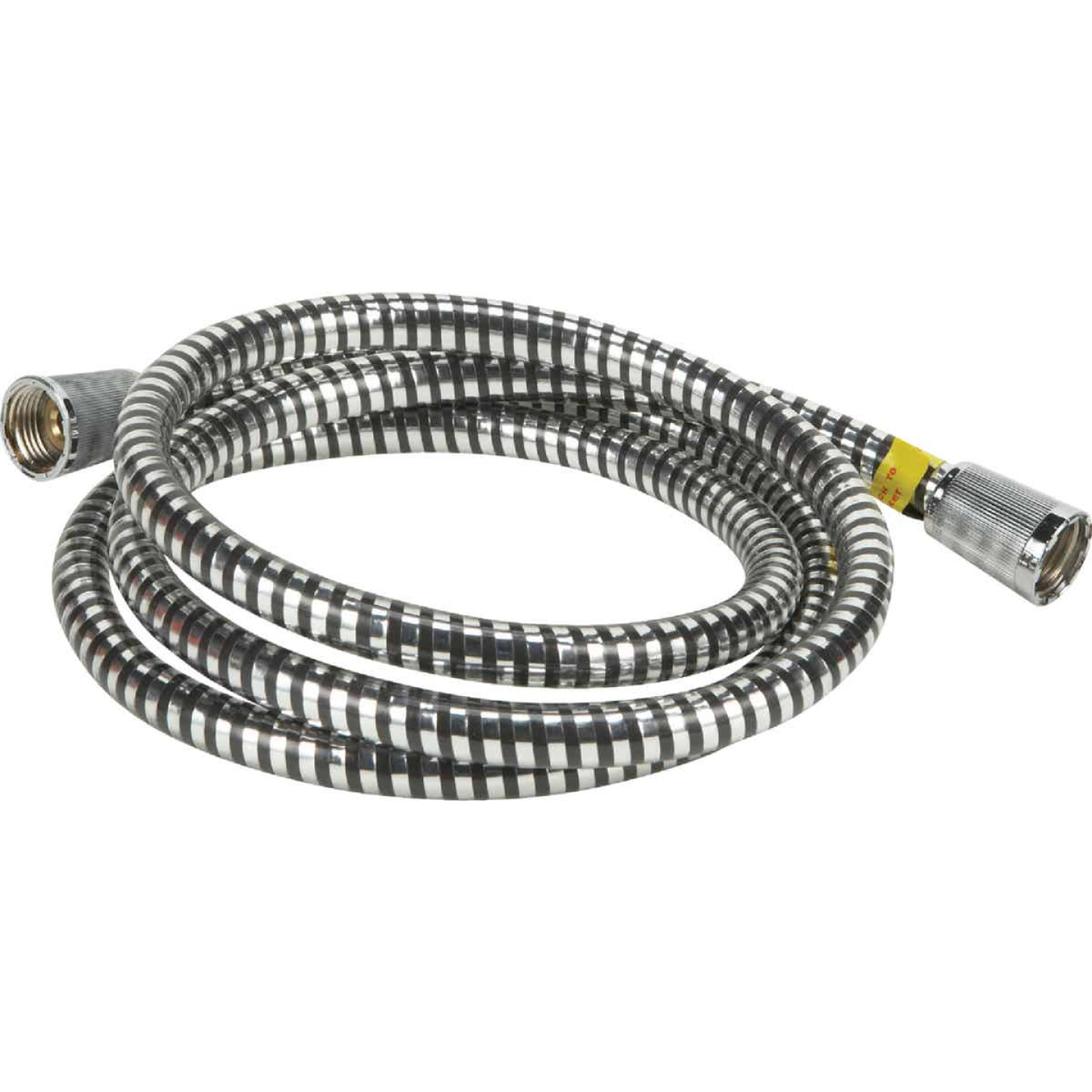 Home Impressions Chrome 7 Ft. Shower Hose Image 1