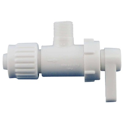 Flair-it 1/2 In. PEX x 3/8 In. C 1/4 Turn Angle Valve