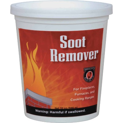 Meeco's Red Devil Pint Powdered Soot Remover