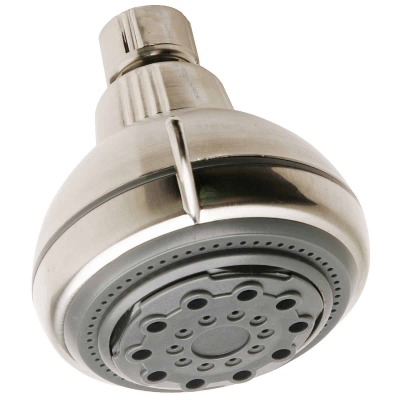 Do it 5-Spray 2.16 GPM Fixed Showerhead, Brushed Nickel