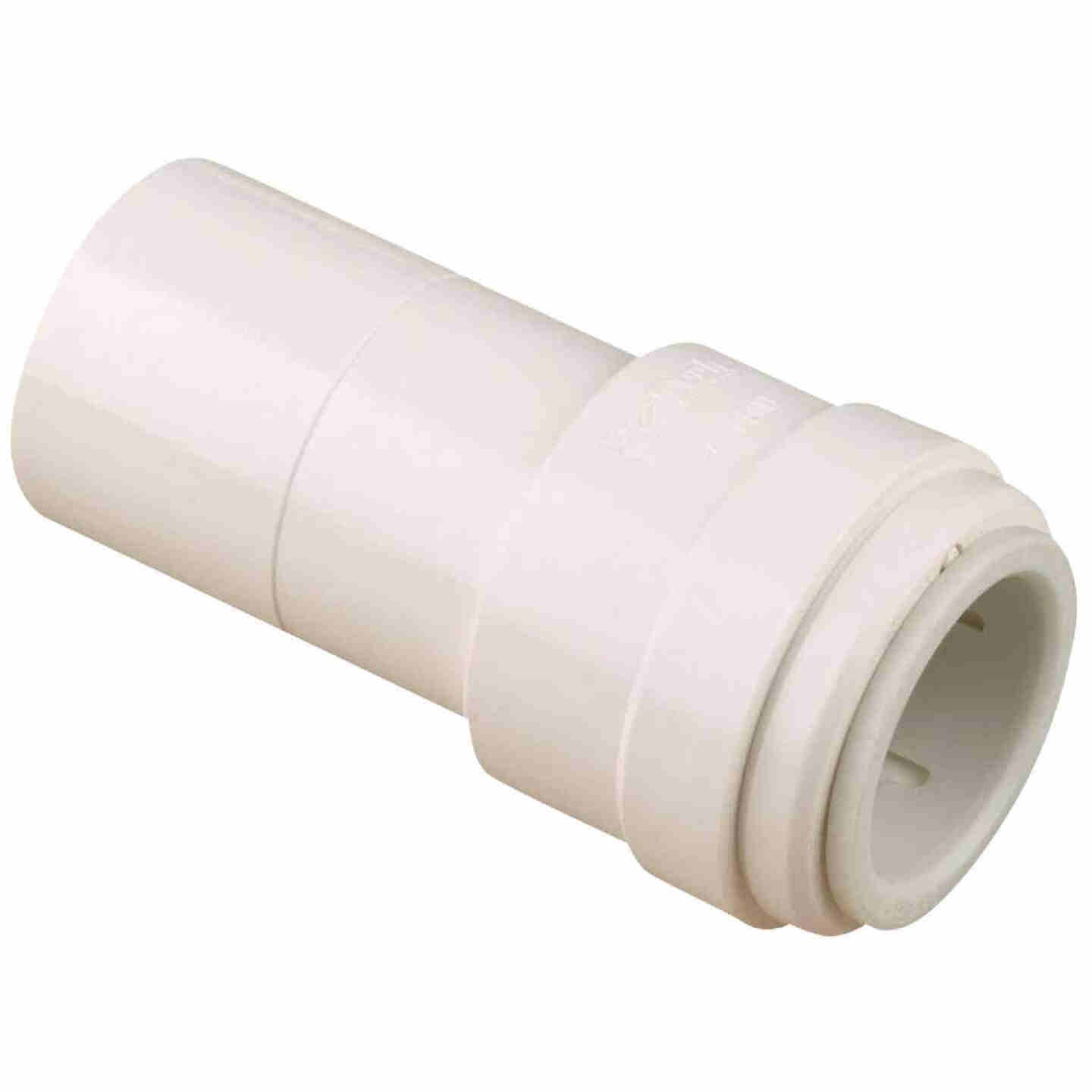 Watts 1/2 In. x 3/8 In. Quick Connect Stackable Plastic Coupling Image 1