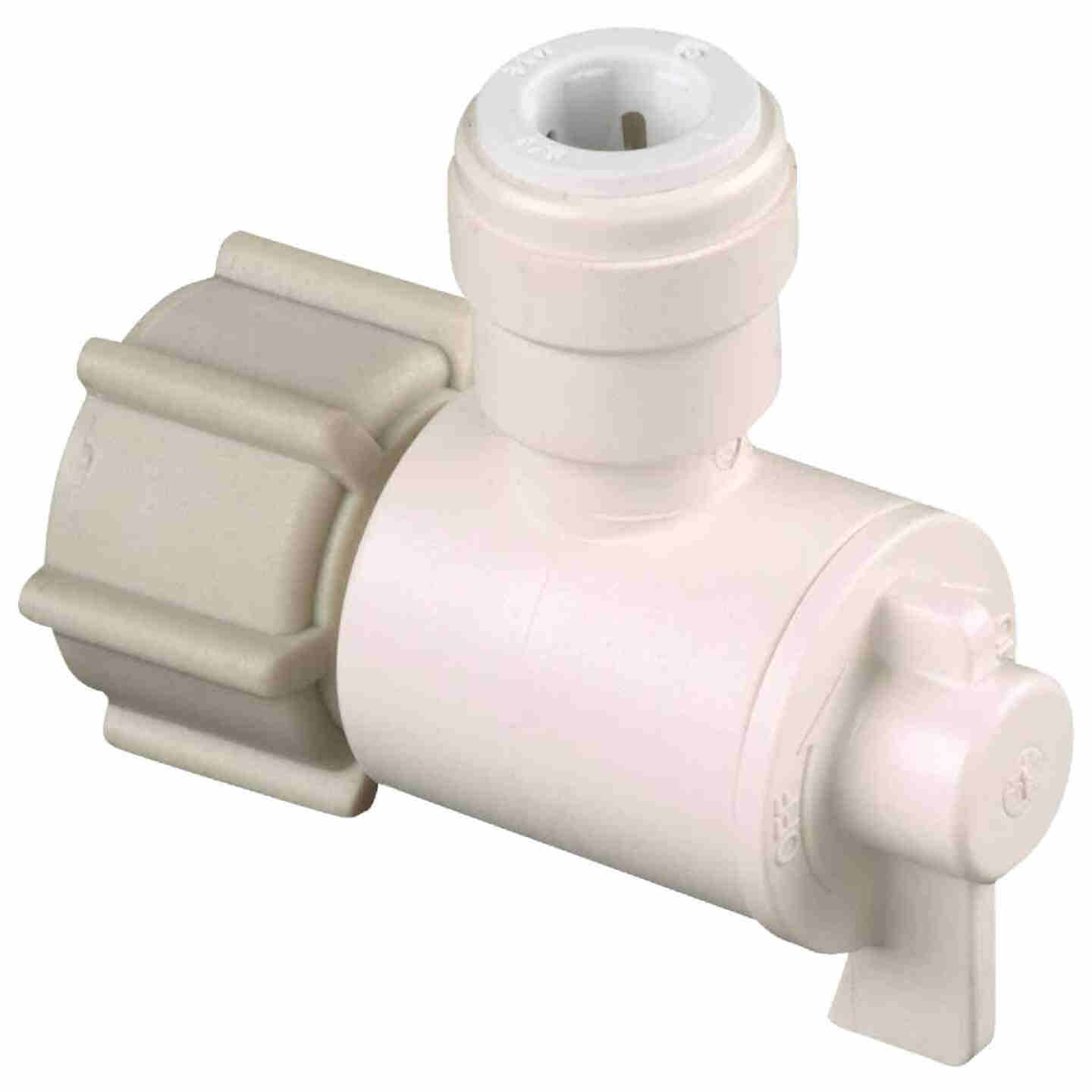 Watts 1/2 In. FPT X 3/8 In. CTS Quick Connect Stop Angle Valve Image 1