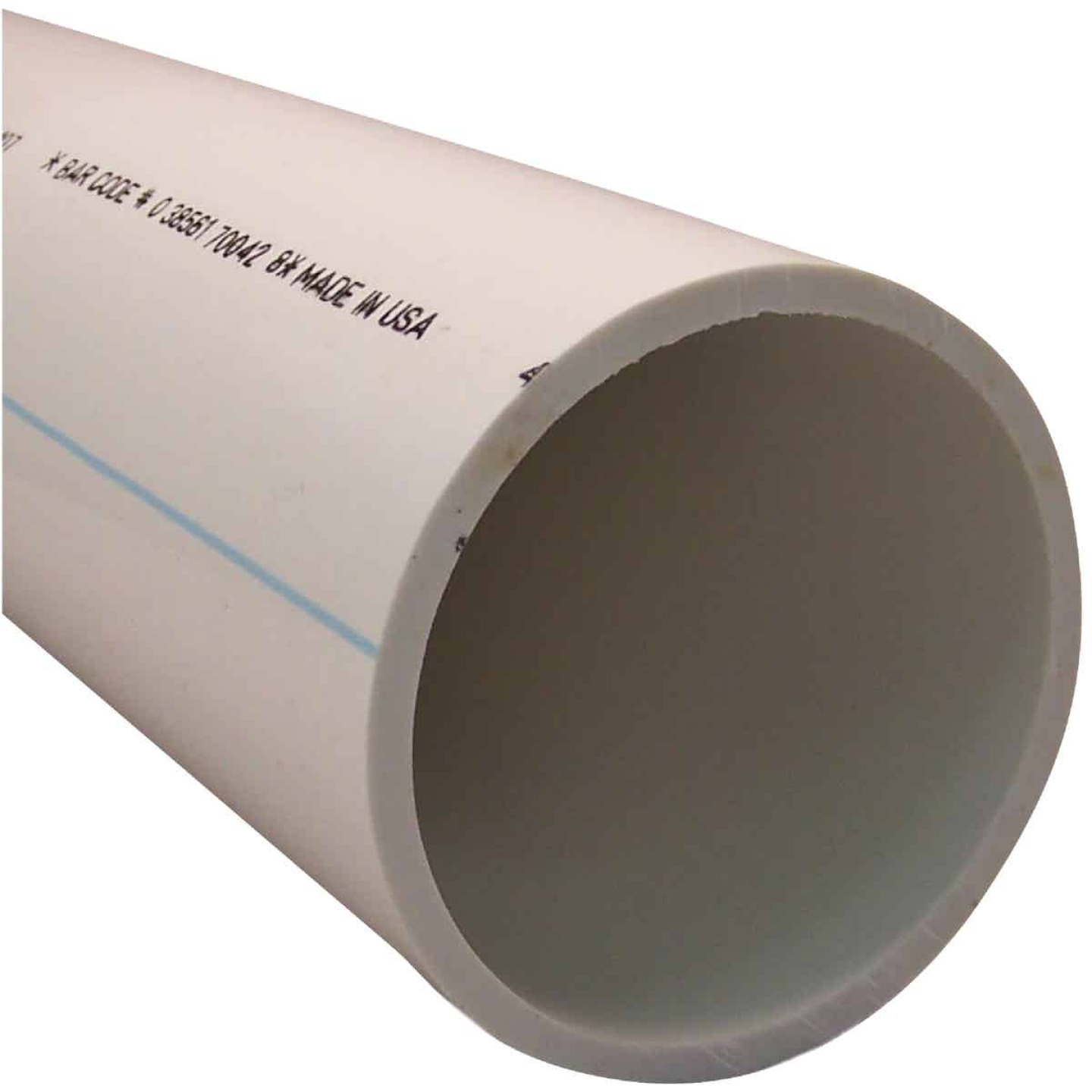Charlotte Pipe 4 In. X 5 Ft. PVC-DWV Cellular Core Schedule 40 Pipe Image 1