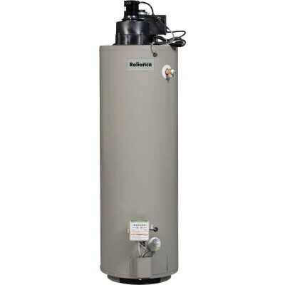 Reliance 40 Gal. Tall 6yr 50,000 BTU Liquid Propane (LP) Gas Water Heater with Power Vent