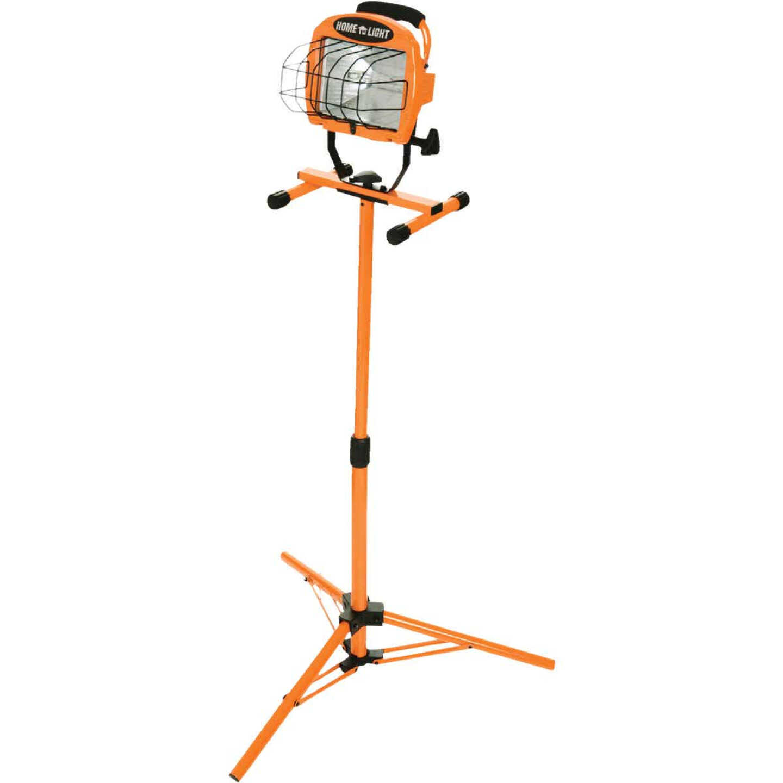 Designers Edge Home Light 8000 Lm. Halogen Tripod Stand-Up Work Light Image 3