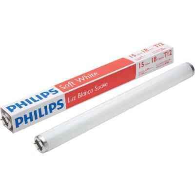 Philips ALTO 15W 18 In. Soft White T12 Medium Bi-Pin Fluorescent Tube Light Bulb