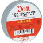 Do it General Purpose 3/4 In. x 60 Ft. Gray Electrical Tape Image 2