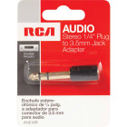 RCA 1/4 In. Plug to 3.5mm Jack Adapter Audio Adapter Image 2