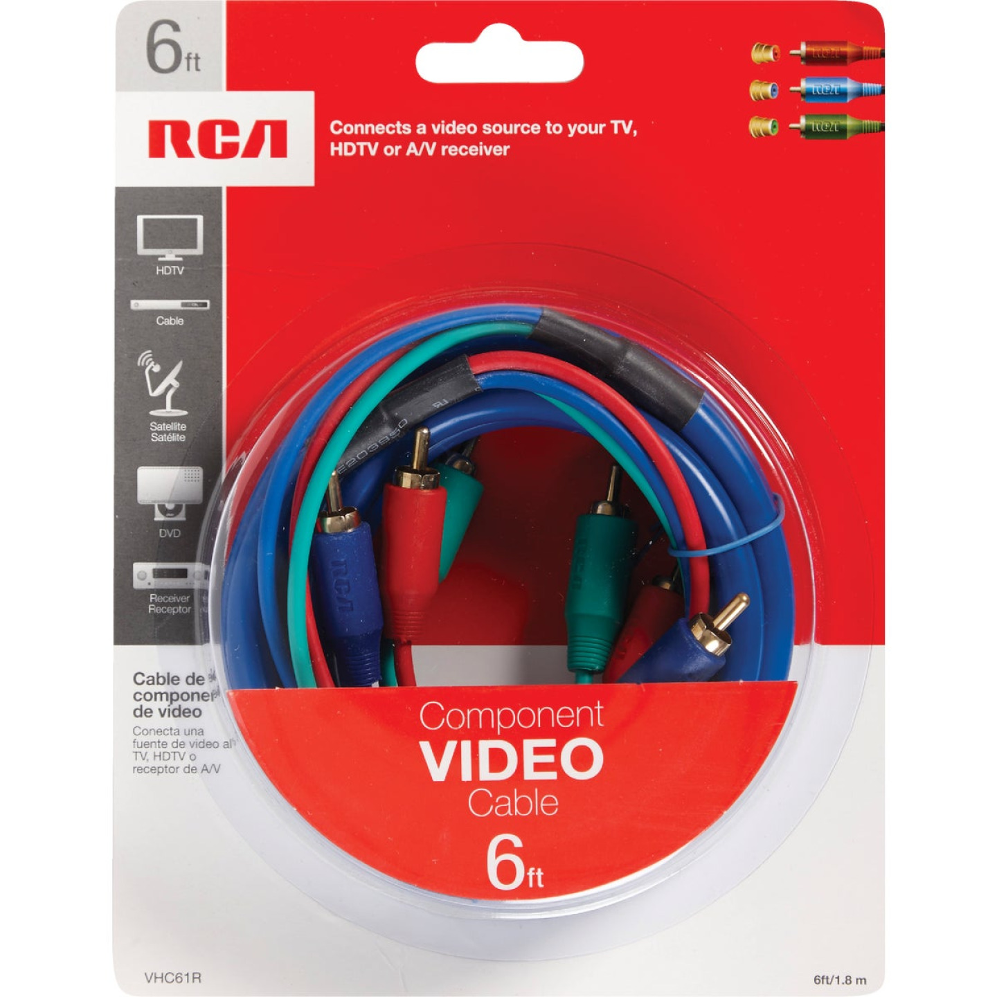 RCA 6 Ft. Computer Component Video Cable Image 2
