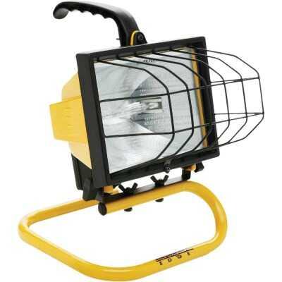 Designers Edge Power Light 8000 Lm. Halogen S-Tube Portable Work Light