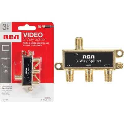 RCA 3-Way Coaxial Splitter