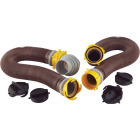 Camco 10 Ft. Revolution Swivel RV Sewer Kit Image 1