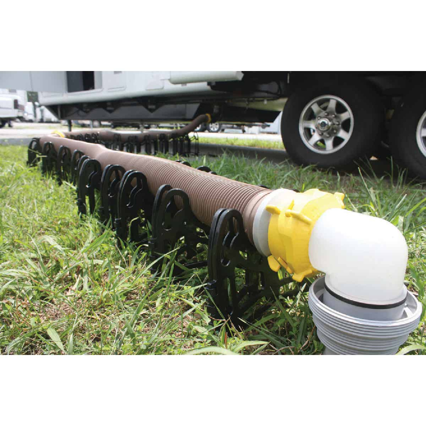 Camco 10 Ft. Revolution Swivel RV Sewer Kit Image 2