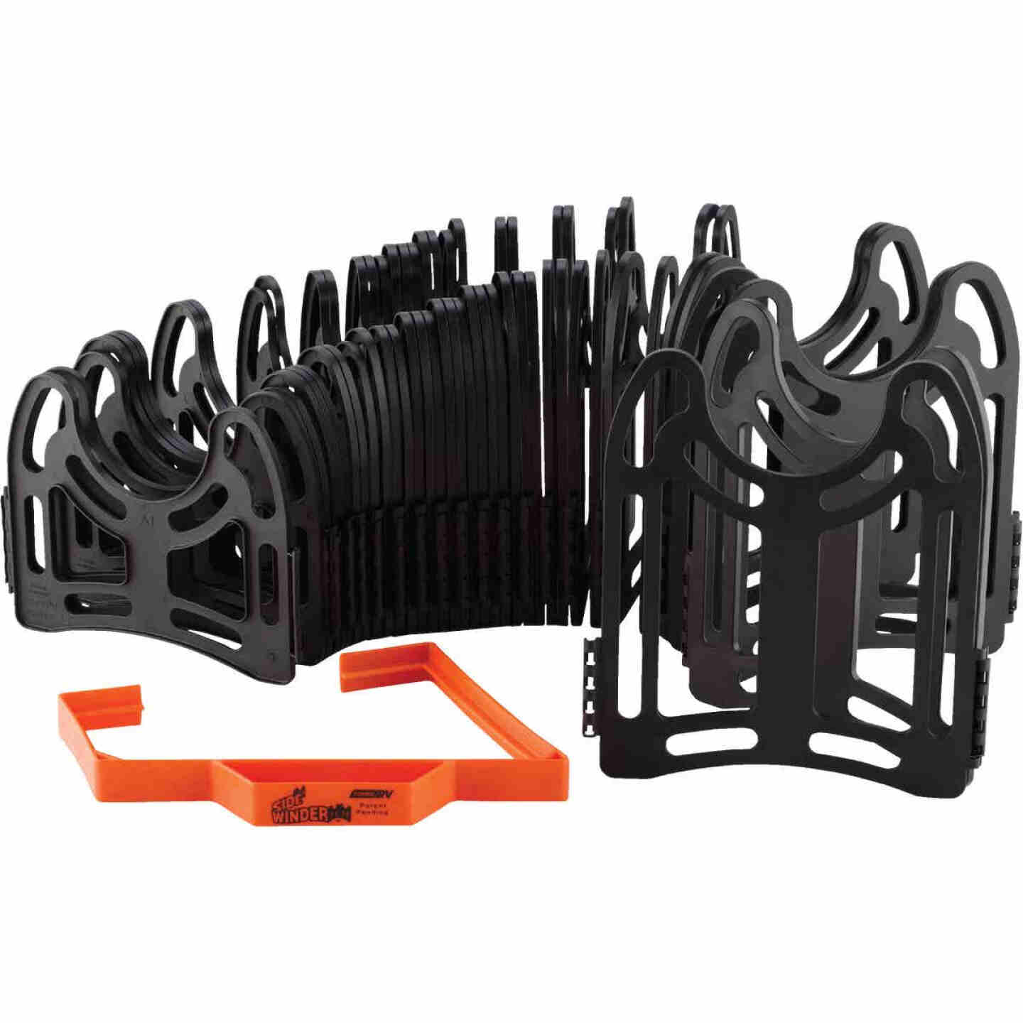 Camco 15 Ft. Sturdy, Lightweight Plastic Sidewinder RV Sewer Hose Support Image 4