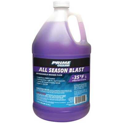 Prime Guard All Season Blast 1 Gal. -35 Deg F Deicer Windshield Washer Fluid