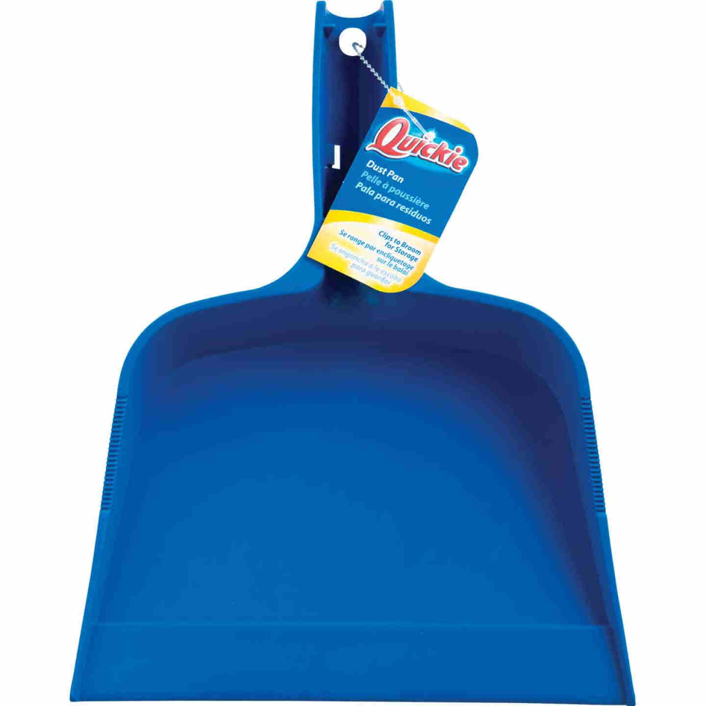 Quickie 10.9 In. Blue Plastic Dust Pan Image 1