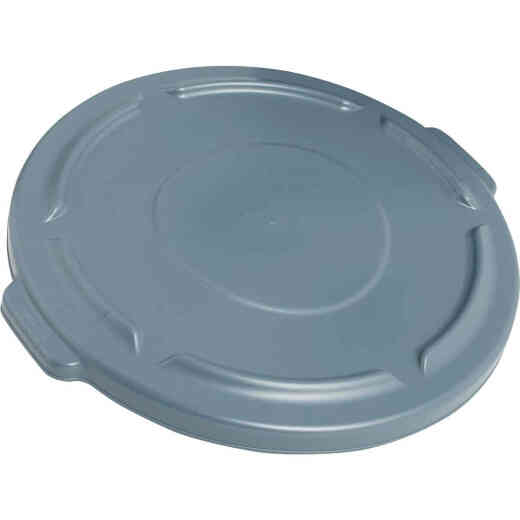 Rubbermaid Commercial Brute Gray Trash Can Lid for 32 Gal. Trash Can