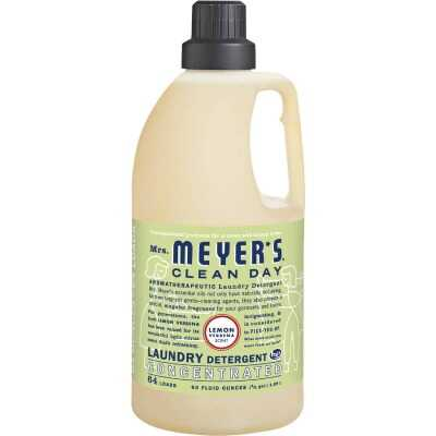 Mrs. Meyer's Clean Day 64 Oz. Lemon Concentrated Laundry Detergent
