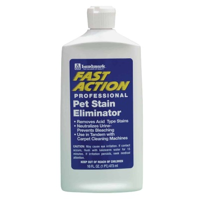 Lundmark 16 Oz. Fast Action Professional Pet Stain Remover