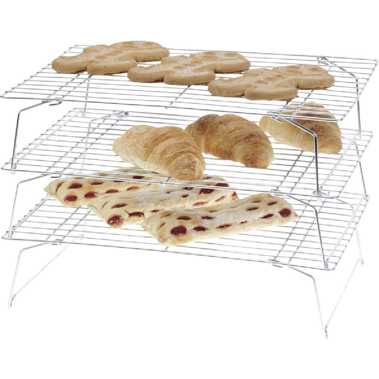 Norpro 10 In. x 14 In. Baking & Cooling Rack (3-Pack) Image 1