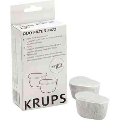 Krups Coffeemaker FME, FMF, 466, 467 Water Filter (2-Pack)
