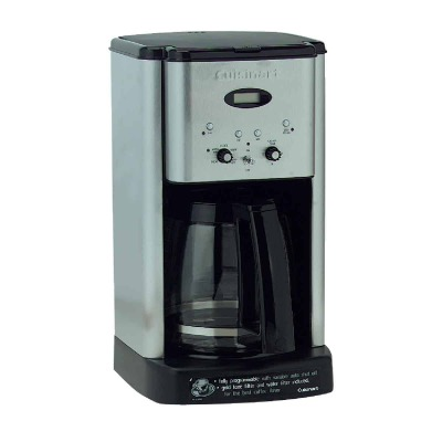 Cuisinart 12 Cup Programmable Stainless Steel Coffee Maker