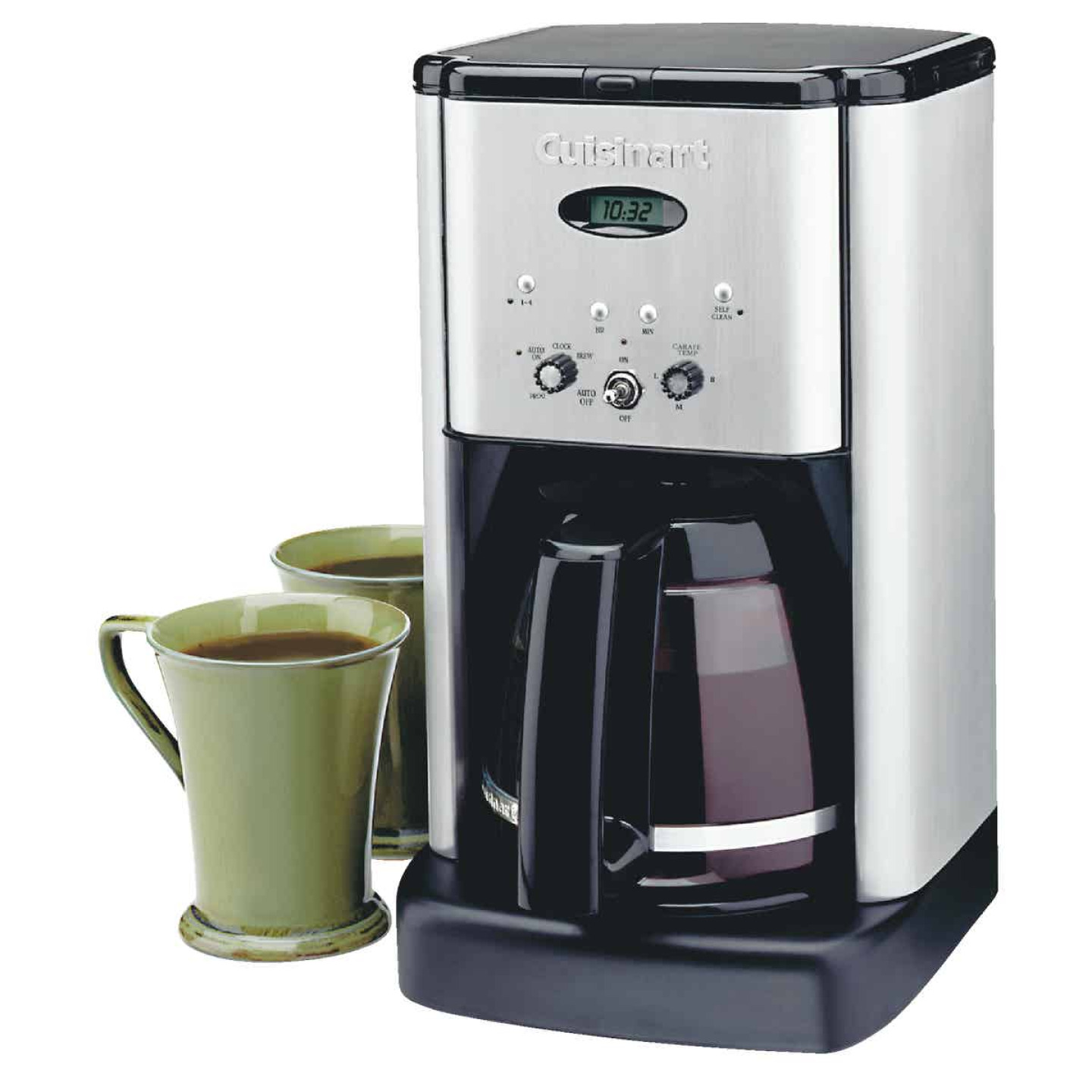 Cuisinart 12 Cup Programmable Stainless Steel Coffee Maker Image 2