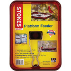 Stokes Select Red Plastic Platform Bird Feeder Image 2