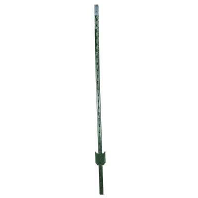 W. Silver 5 Ft. Steel 1.25 Lb/Ft. Fence T-Post