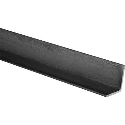 HILLMAN Steelworks Plain 1-1/4 In. x 3 Ft., 1/8 In. Weldable Solid Angle