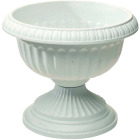 Novelty 12 In. W. x 11 In. H. x 12 In. L. Poly Stone Urn Image 1