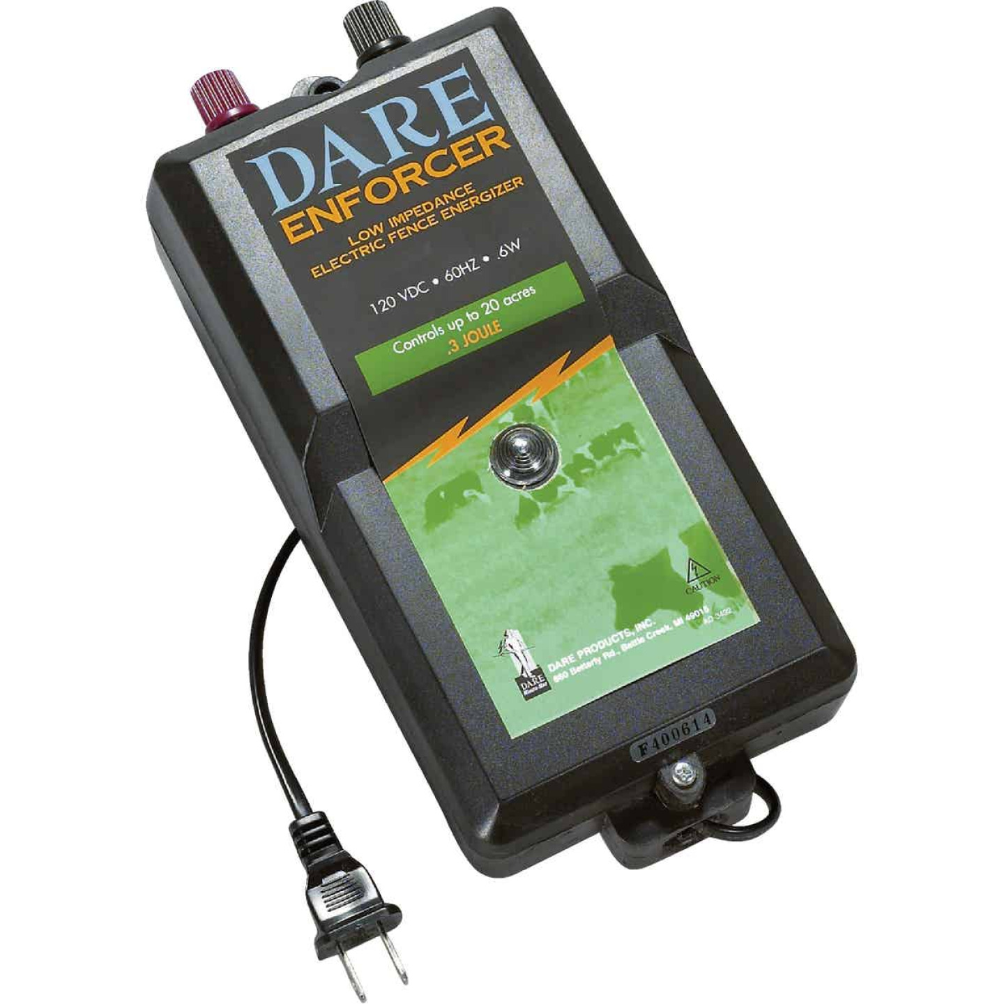 Dare Enforcer 20-Acre Electric Fence Charger Image 1