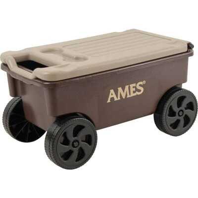 Ames Lawn Buddy 2 Cu. Ft. 200 Lb. Poly Garden Cart