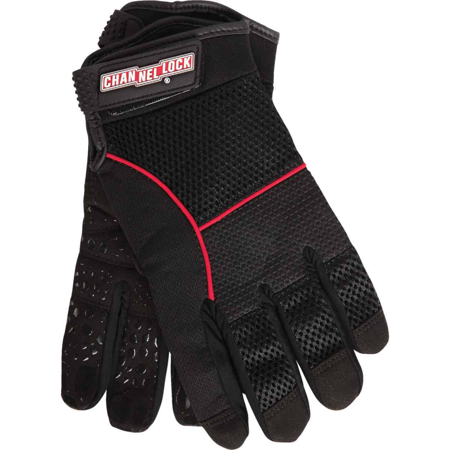 Channellock Men's Large Synthetic Leather Utility Grip High Performance Glove Image 1