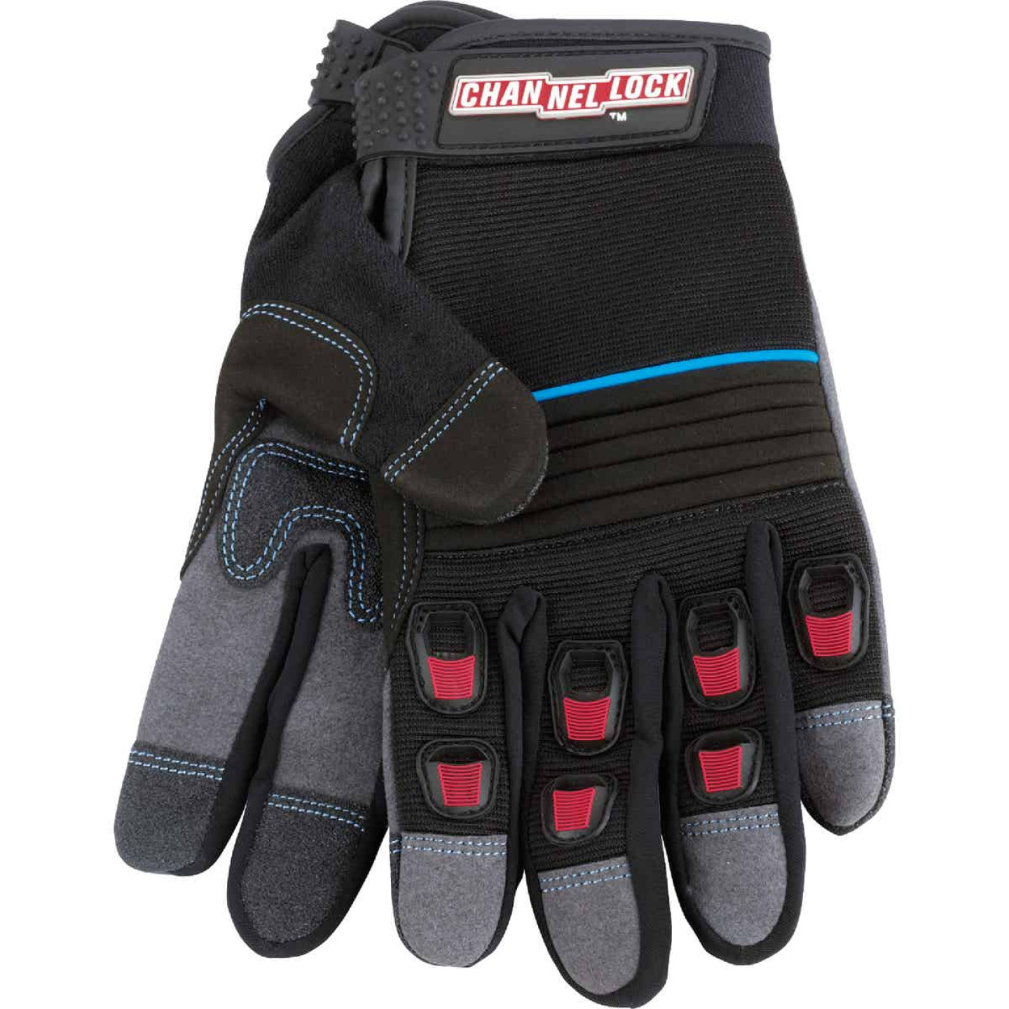 Channellock Men's Large Synthetic Leather Heavy-Duty High Performance Glove Image 3