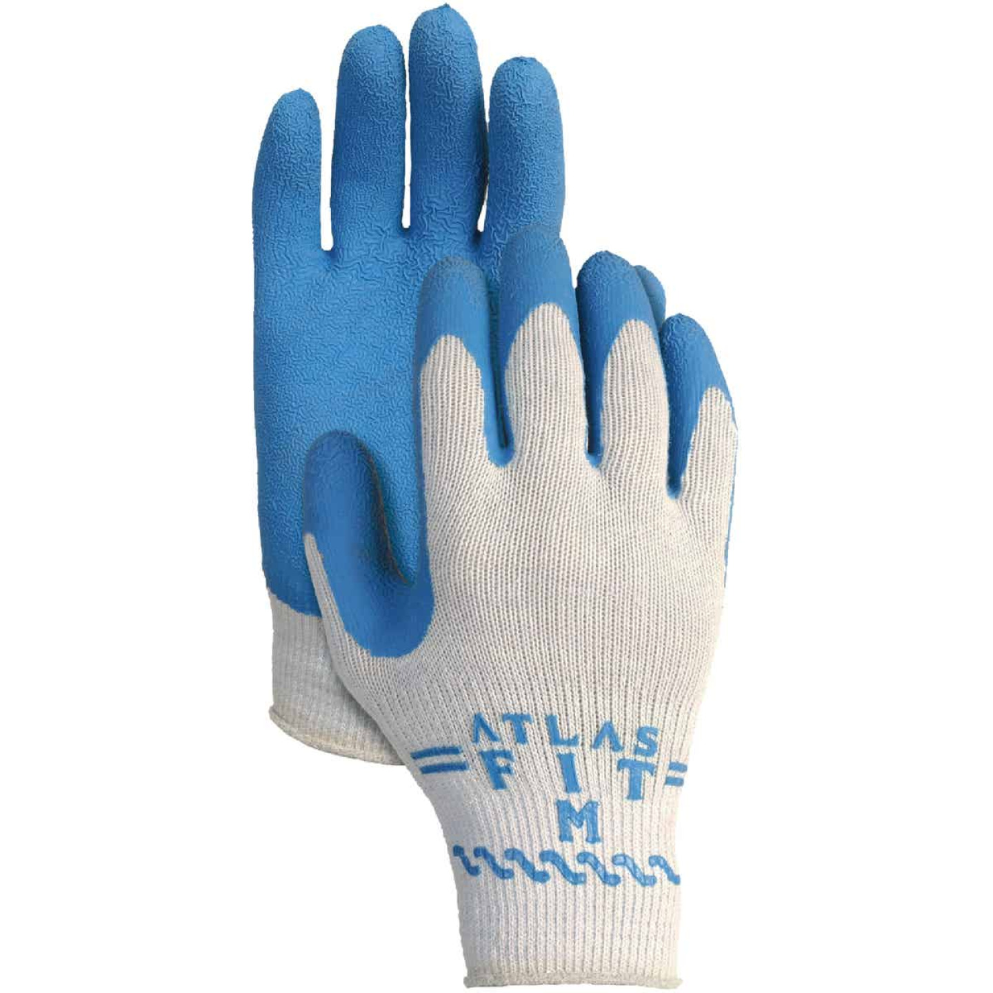 Showa Atlas Men's Large Rubber Coated Glove Image 1