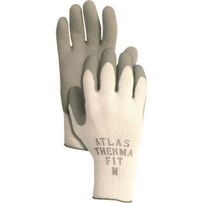Atlas Therma-Fit Men's Small Latex-Dipped Knit Winter Glove