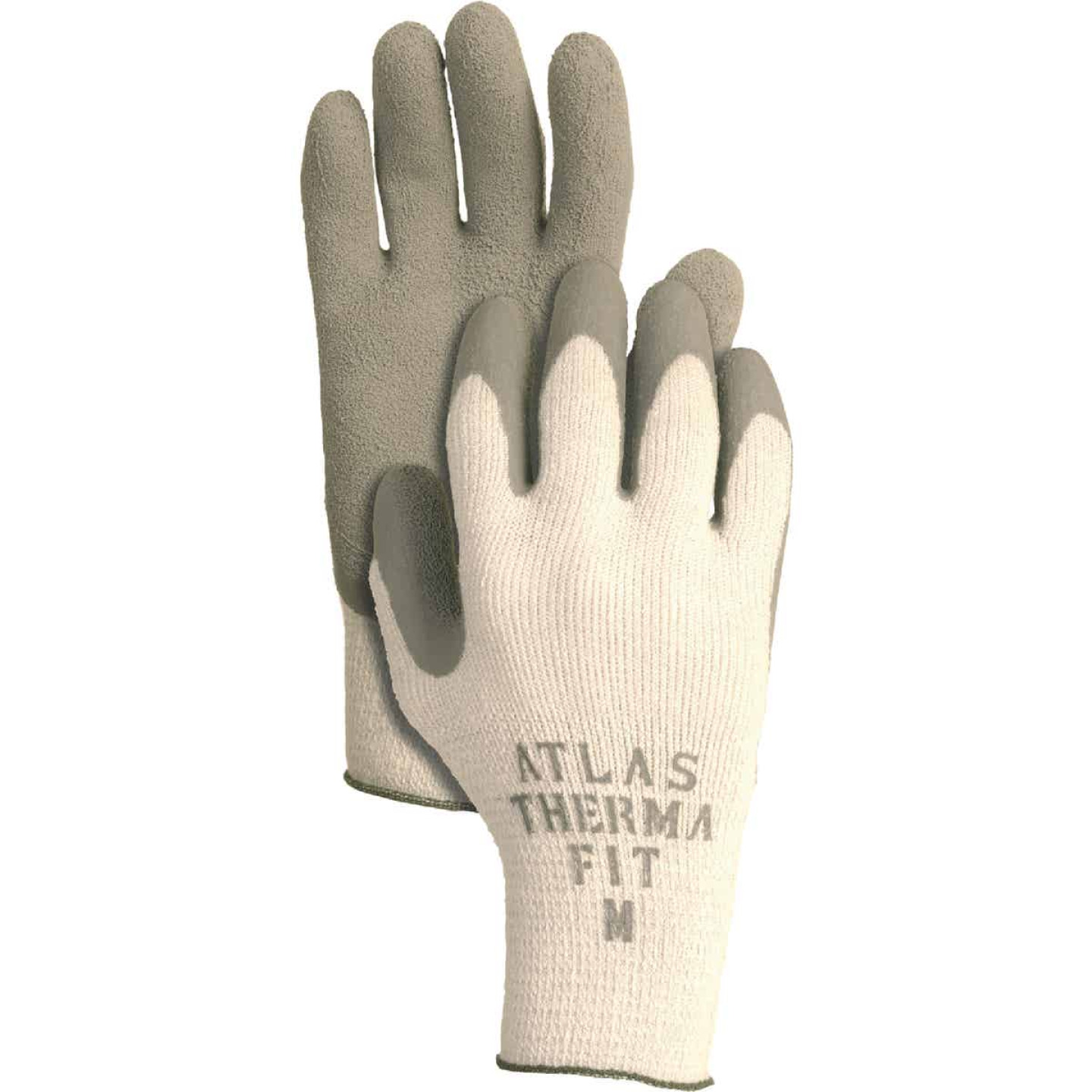 Atlas Therma-Fit Men's Medium Latex-Dipped Knit Winter Glove Image 1