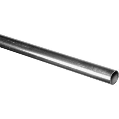 HILLMAN Steelworks Aluminum 1 In. O.D. x 8 Ft. Round Tube Stock