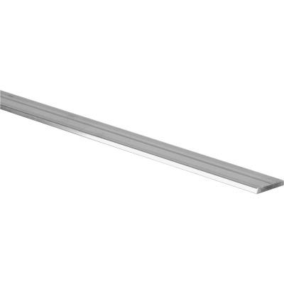 Hillman Steelworks 1 In. x 6 Ft. x 1/4 In. Aluminum Bar Flat Stock