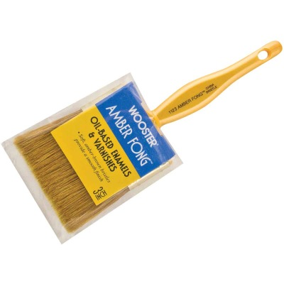 Wooster Amber Fong 3 In. Flat Paint Brush