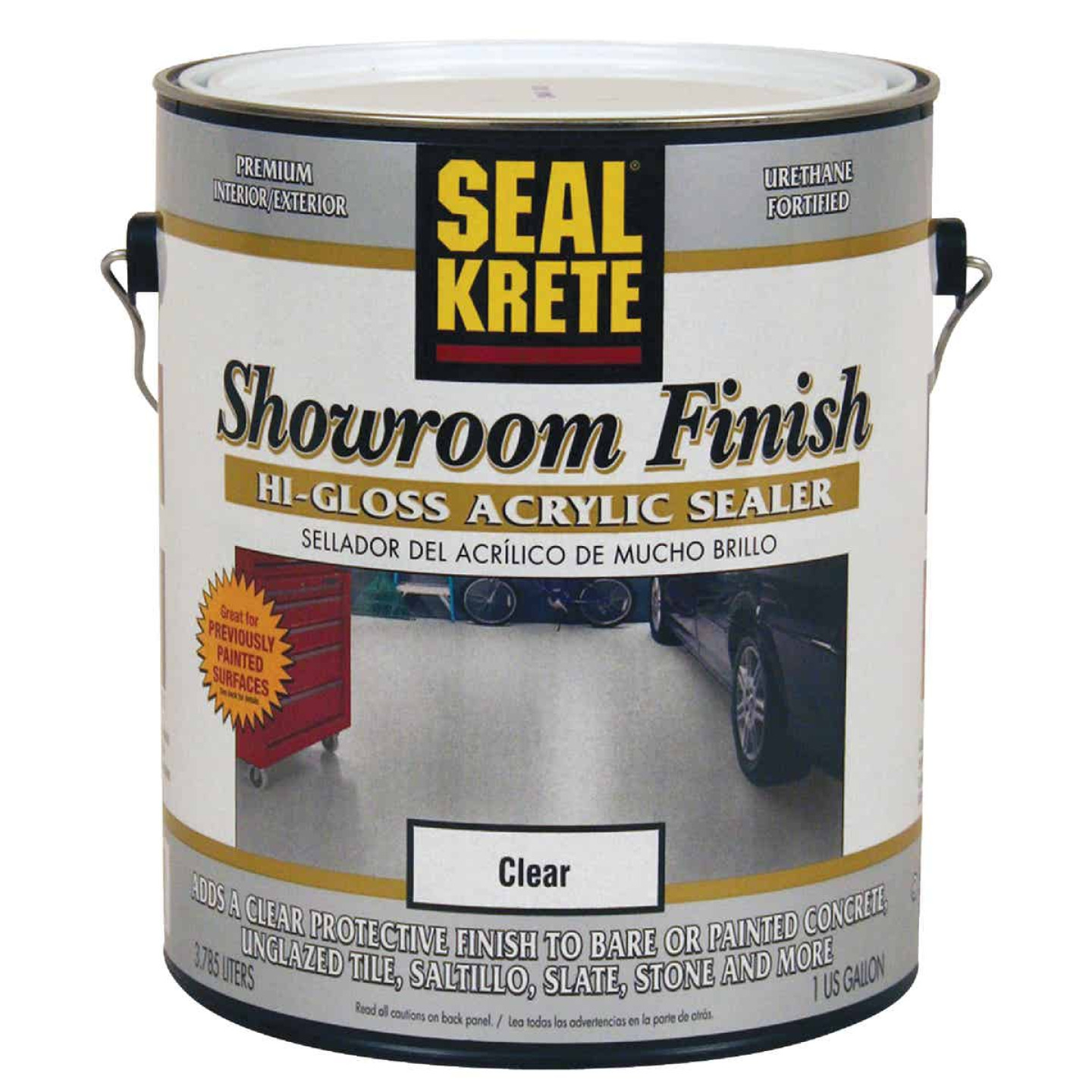Seal Krete Clear Hi Gloss Concrete Paint, 1 Gal.  Image 1