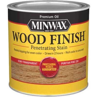 Minwax Wood Finish Penetrating Stain, Puritan Pine, 1/2 Pt.