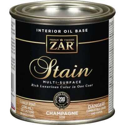 Zar 1/2 Pt. Champagne Oil-Based Multi-Surface Interior Stain