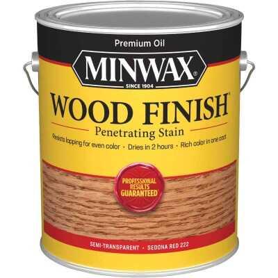 Minwax Wood Finish Penetrating Stain, Sedona Red, 1 Gal.
